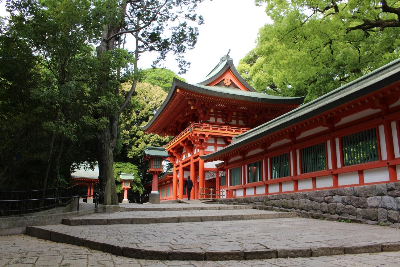 氷川神社 楼門(2015/5/12)
