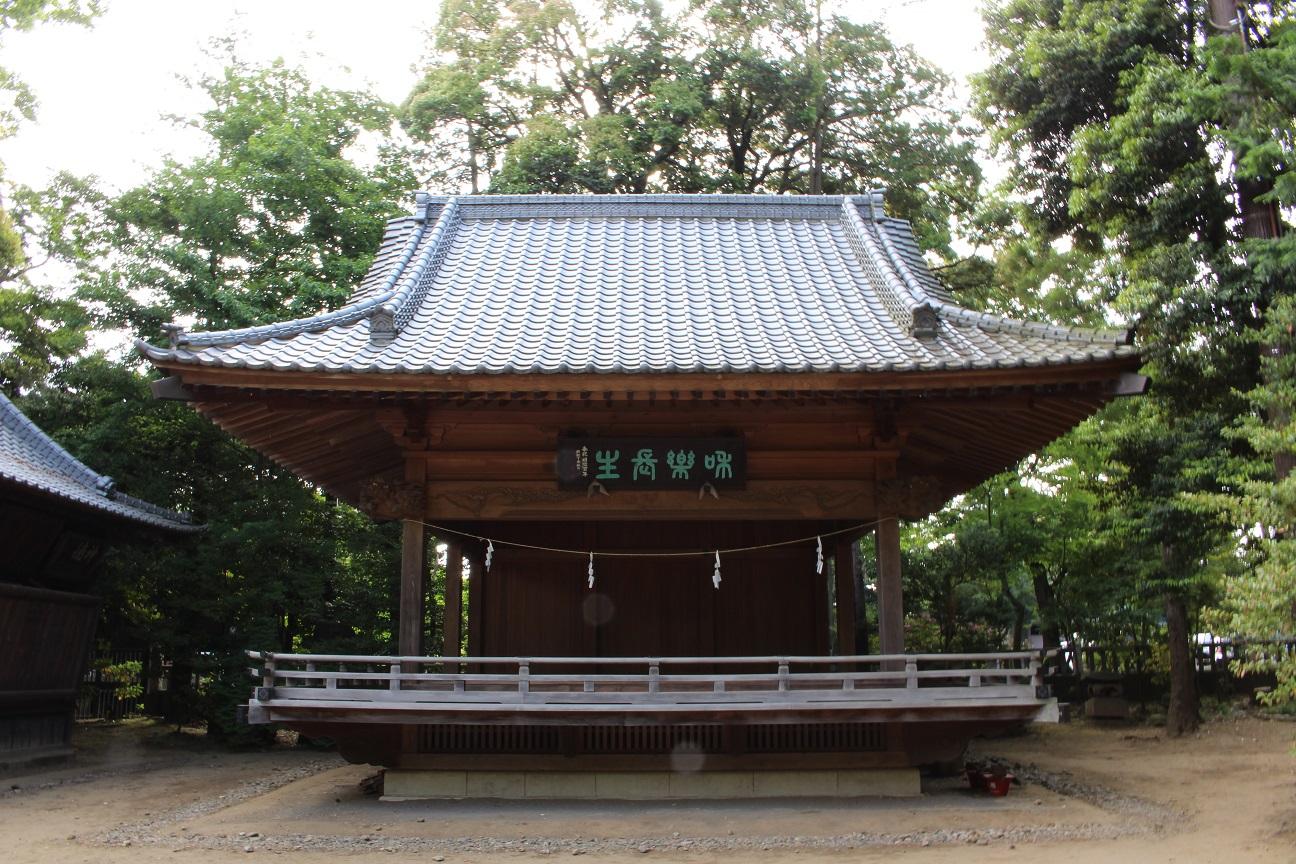 氷川神社 神楽殿